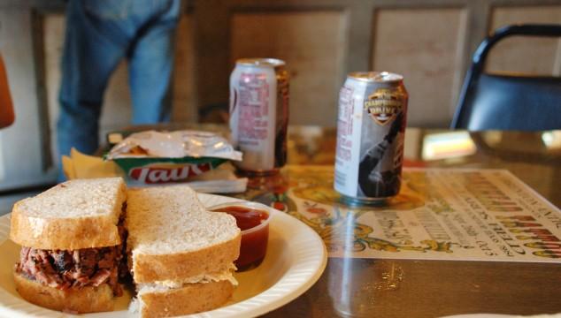 round top sandwich
