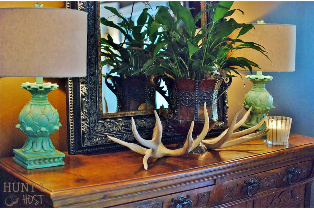horn decor antler decor