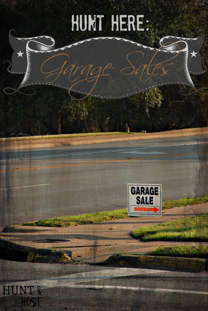hunt here garage sales