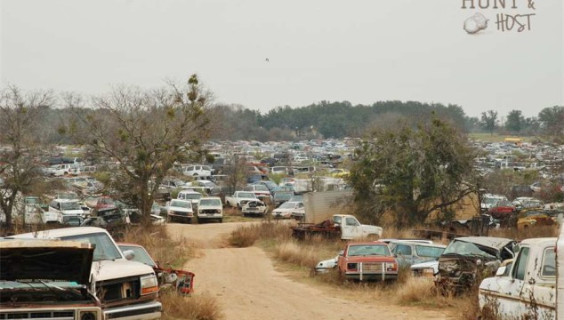 junk yard hunt and host
