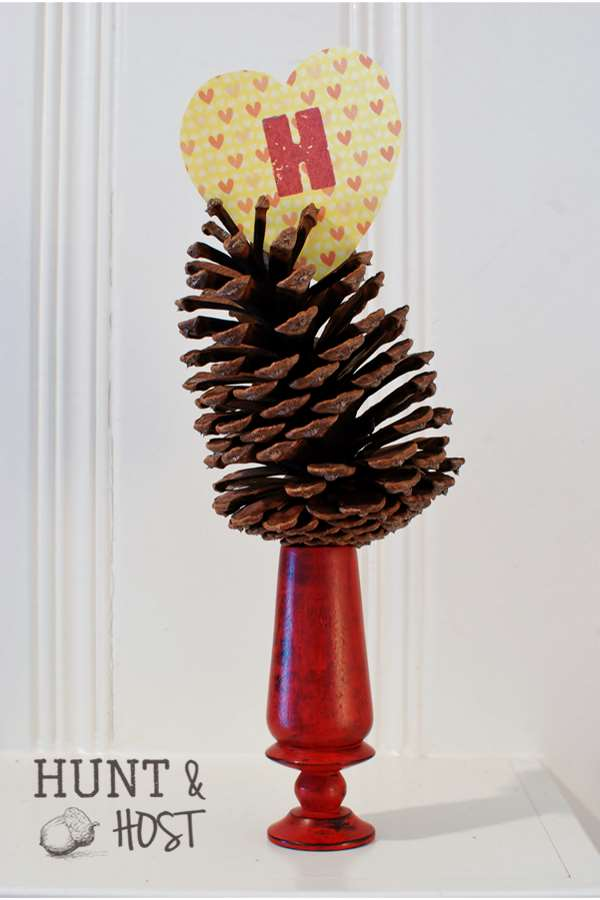 pinecone candle hunt and host