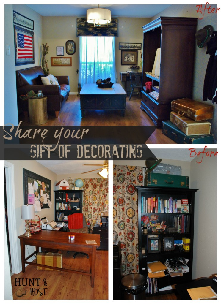 share your gift of decorating