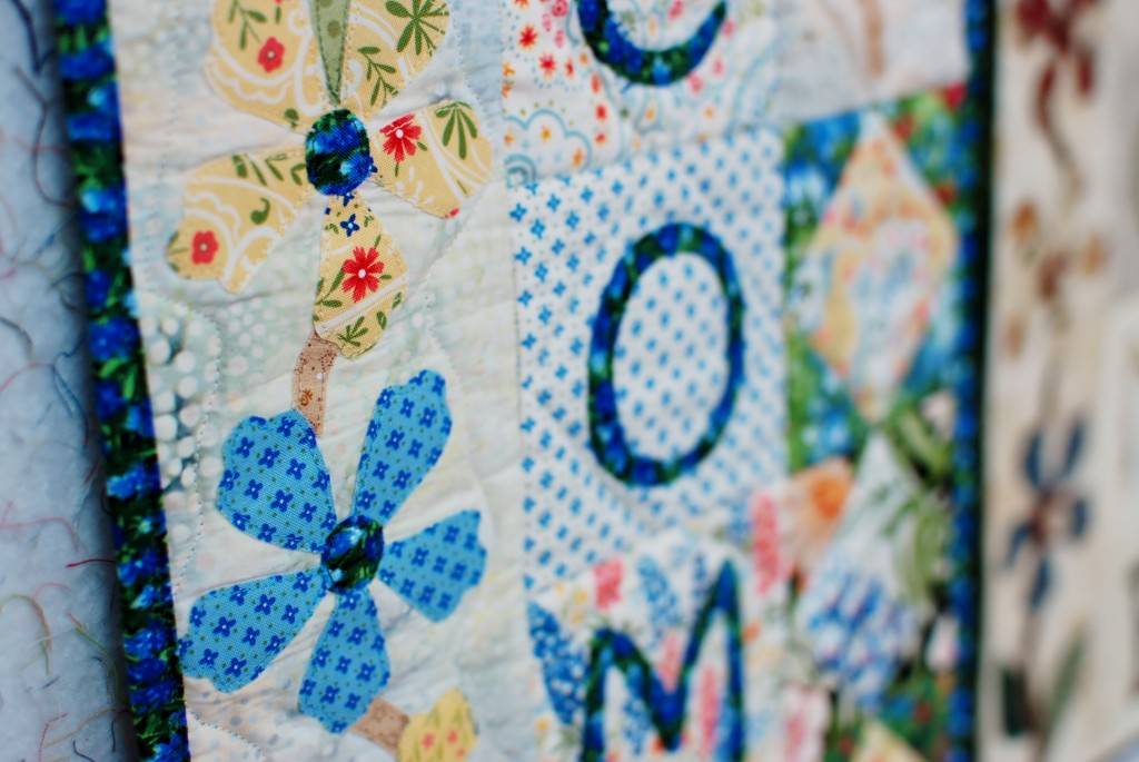 Quilt DIY no sew banner