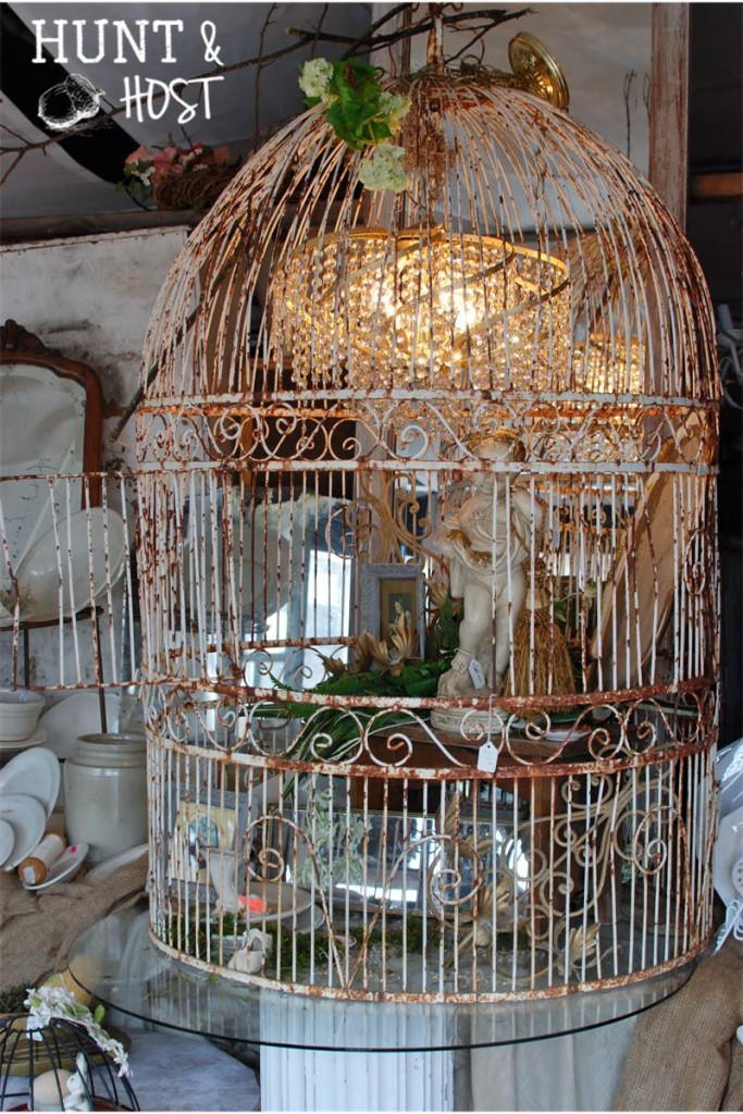 warrenton round top bird cage