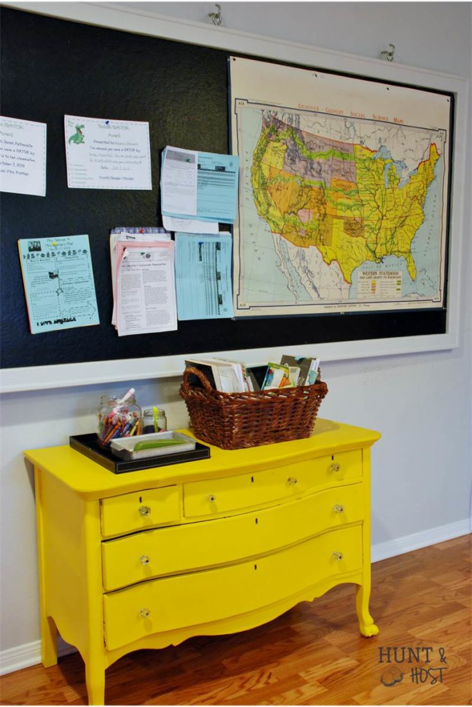 yellow dresser school map