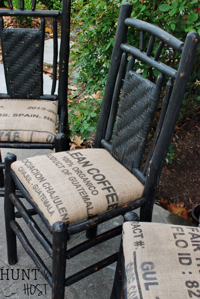 Coffe Bean sacks for reupholstery
