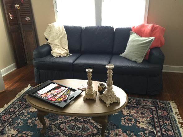 painted furniture sofa