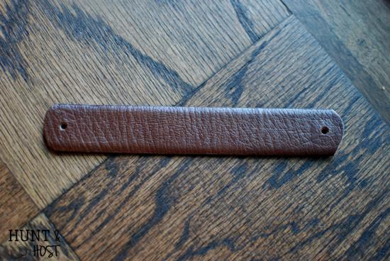 Broach bracelet cuff bracelet tutorial www.huntandhost.net
