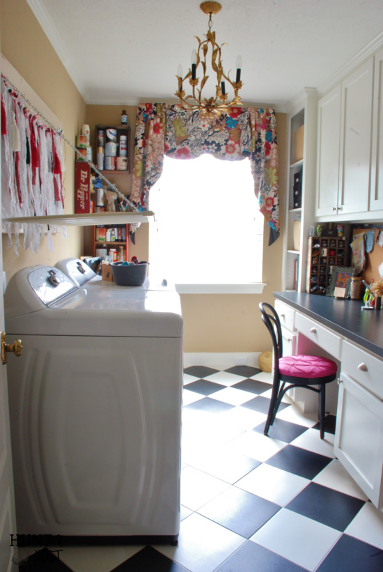 hunt and host home tour link up laundry