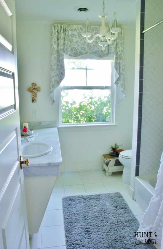 home tour link up bathroom