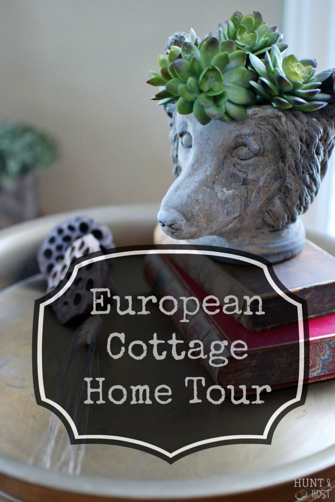 European cottage home tour