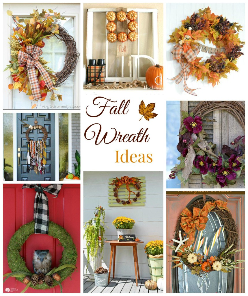 wreath fall ideas