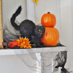 Halloween decorations vintage style huntandhost.net
