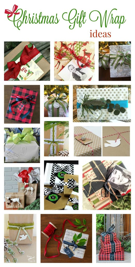 10 Holiday gift wrapping ideas