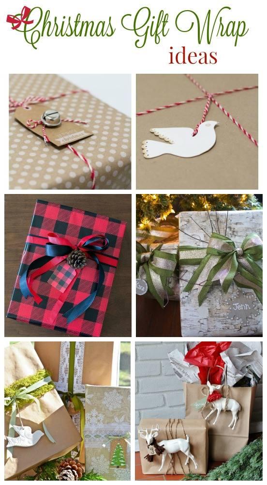 CHristmas gift wrap ideas huntandhost.net