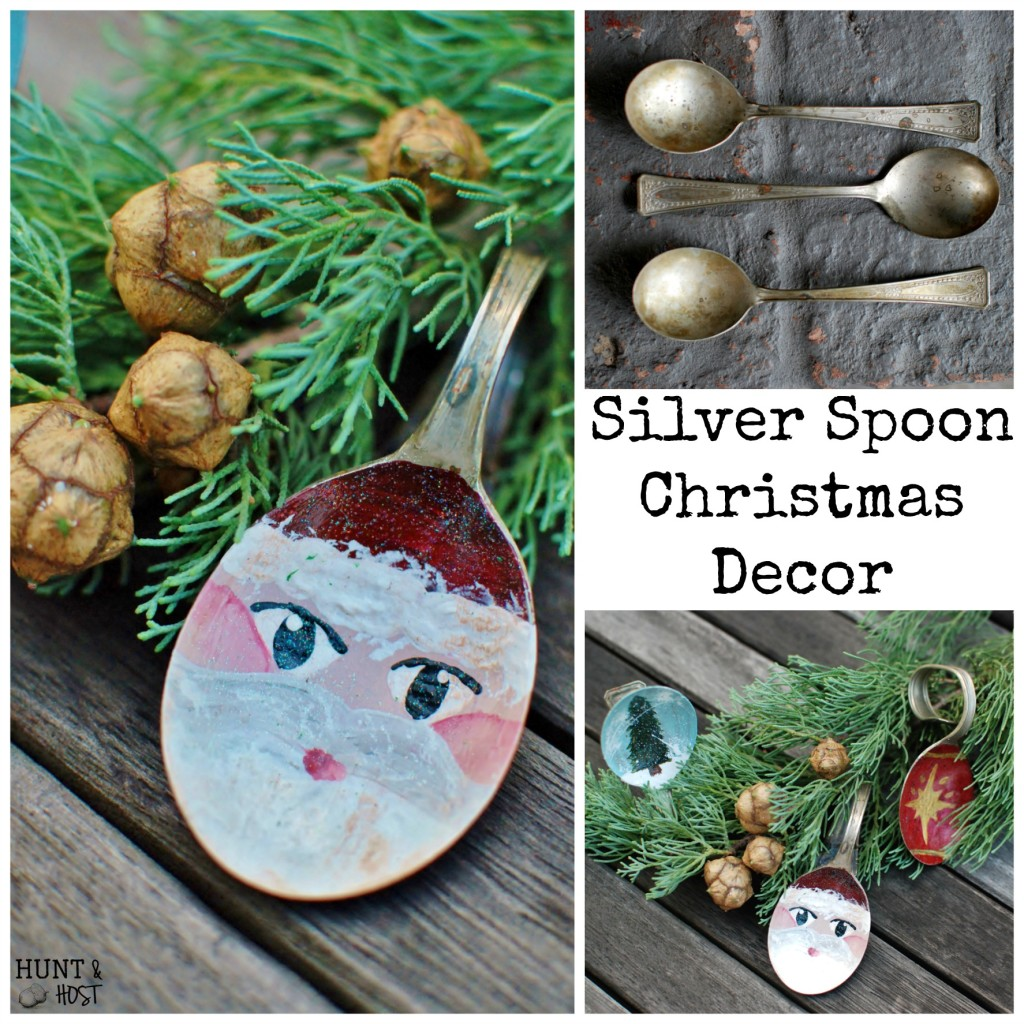 spoon santa spoon tree spoon christmas ornament huntandhost.net