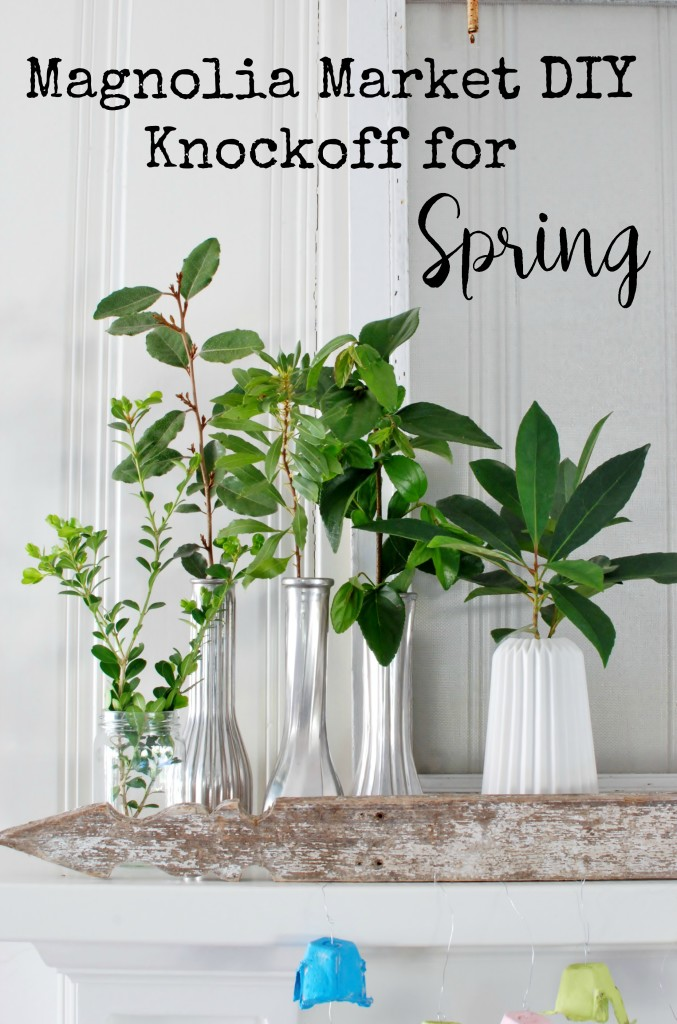 Get the fresh style for Spring with this Magnolia Market knock-off DIY project!