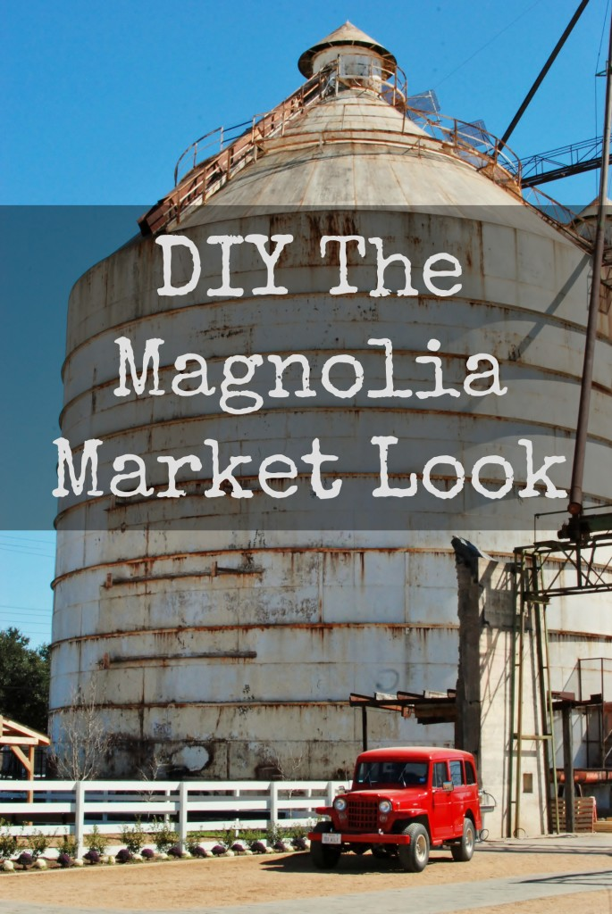 DIY The Magnolia Market Look: Info on the store plus projects to help you get the Fixer Upper look, DIY style! www.huntandhost.net