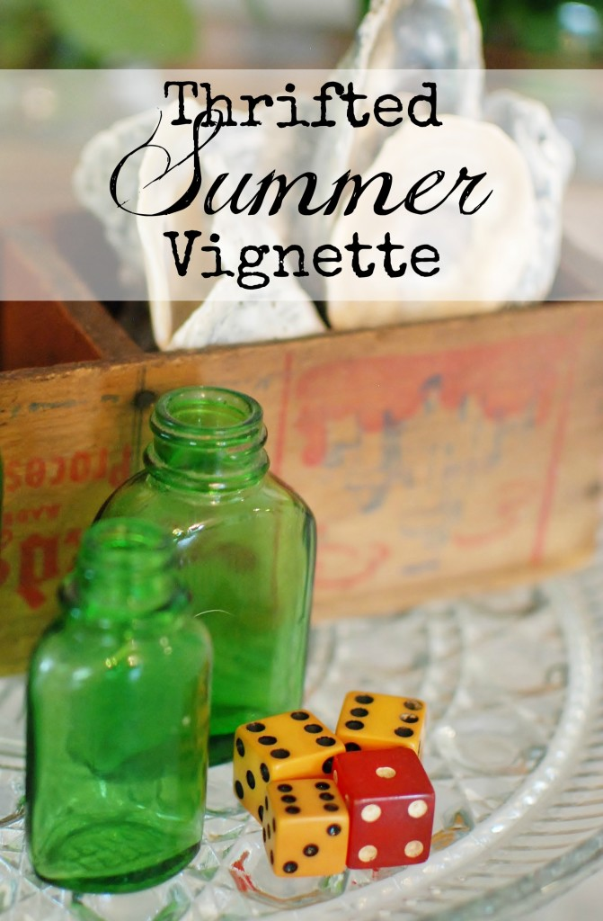 Thrifted Summer Vignette