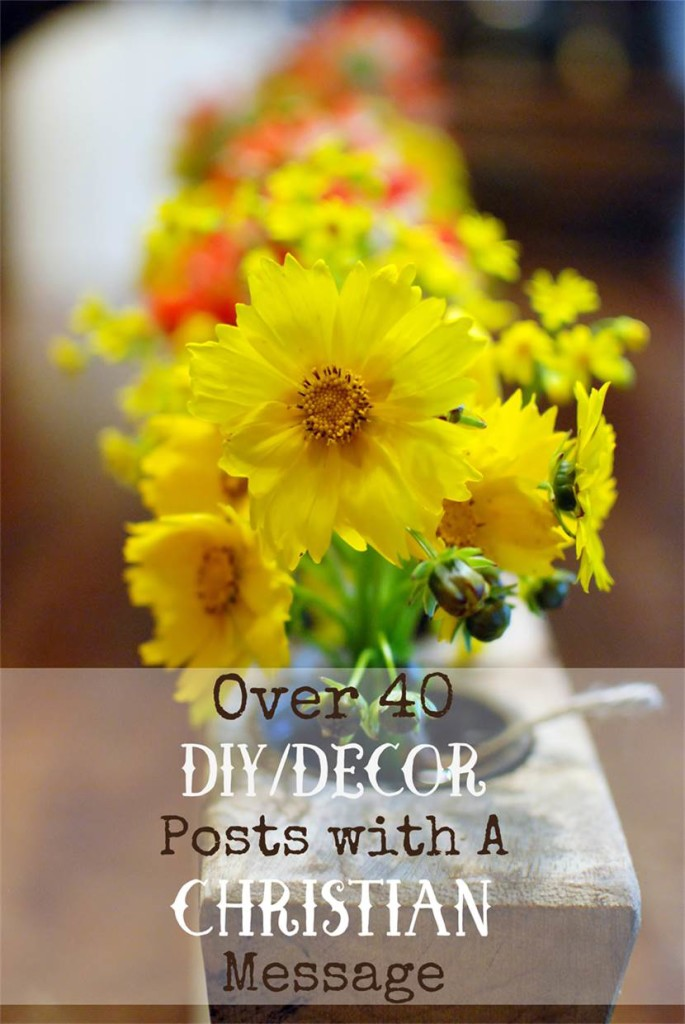 40 Christian DIY decor