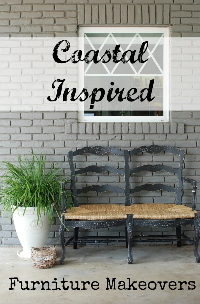 A collection of coastal inspired furniture flips. www.huntandhost.net