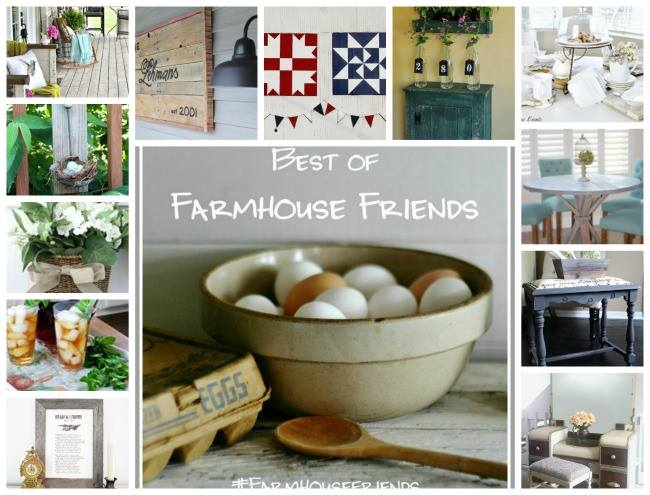 Best of Farmhouse Friends: DIY Farmhouse Projects. Napkin Painted Tray www.huntandhost.net