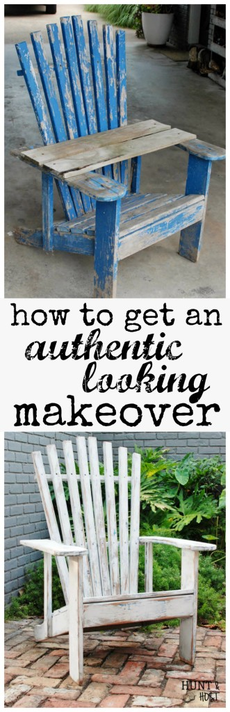 Wonder why some makeovers pop and some flop? Check out how to get an authentic looking furniture makeover that's sure to be a hit! www.huntandhost.net