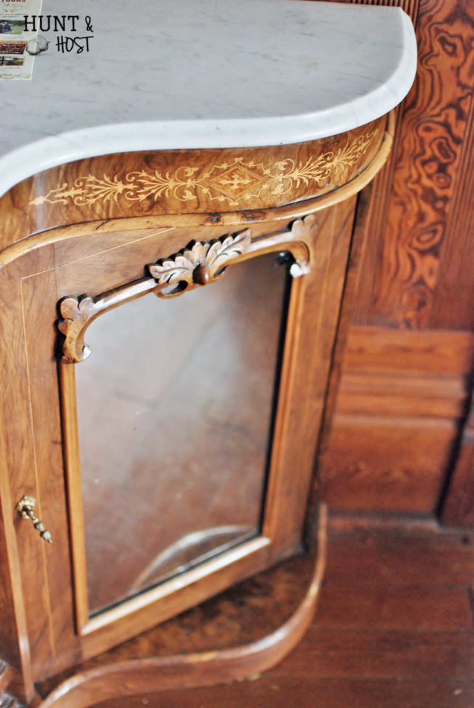 This gorgeous piece of furniture served a pinpoint purpose...to check your petticoat on the way out the door. Looking for your purpose? Some tips here!