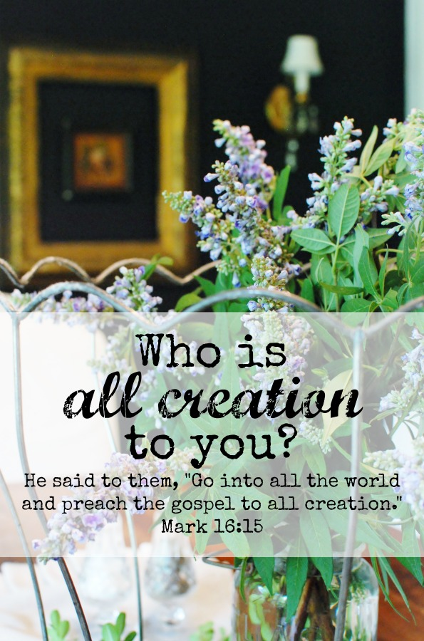 "He said to them, ""Go into all the world and preach the gospel to all creation."" Mark 16:15. Who is all creation to you? A yucky confession from Hunt & Host."