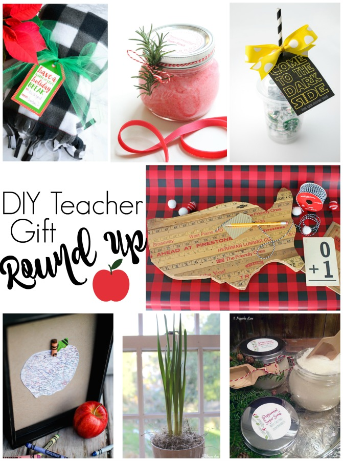 Here is a bunch of DIY teacher gift ideas to help you show your teacher appreciation this season! They would also make fabulous Teacher Appreciation Week gifts.