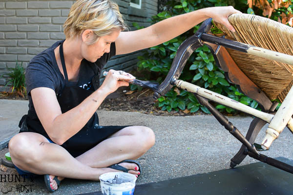 How to save a broken chair. Don't toss that chair just because the back is broken. Try this easy makeover for a fast DIY save.