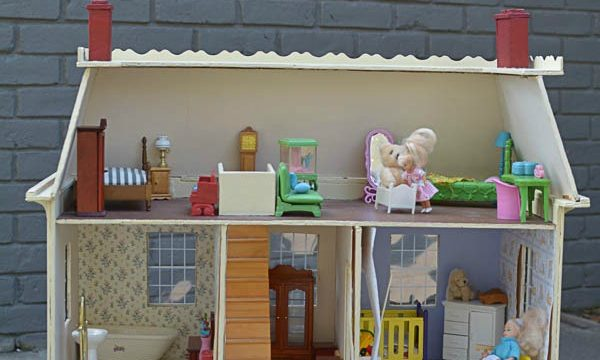 Follow along in the One Room Challenge as I makeover my childhood dollhouse. This love filled makeover will be filled with fond memories and fresh ideas!