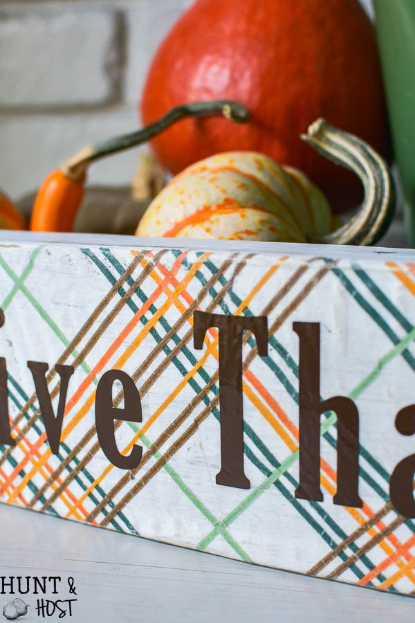 This easy reversible fall and Christmas decoration will help you knock out two holiday decorating projects in one sitting! Napkin decoupage is perfect for a festive holiday background.