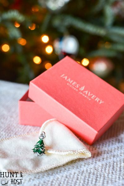Everyone has a story to tell. What's your Christmas story? Hear about our Christmas tree story and how this James Avery Christmas Tree Charm commemorates it!