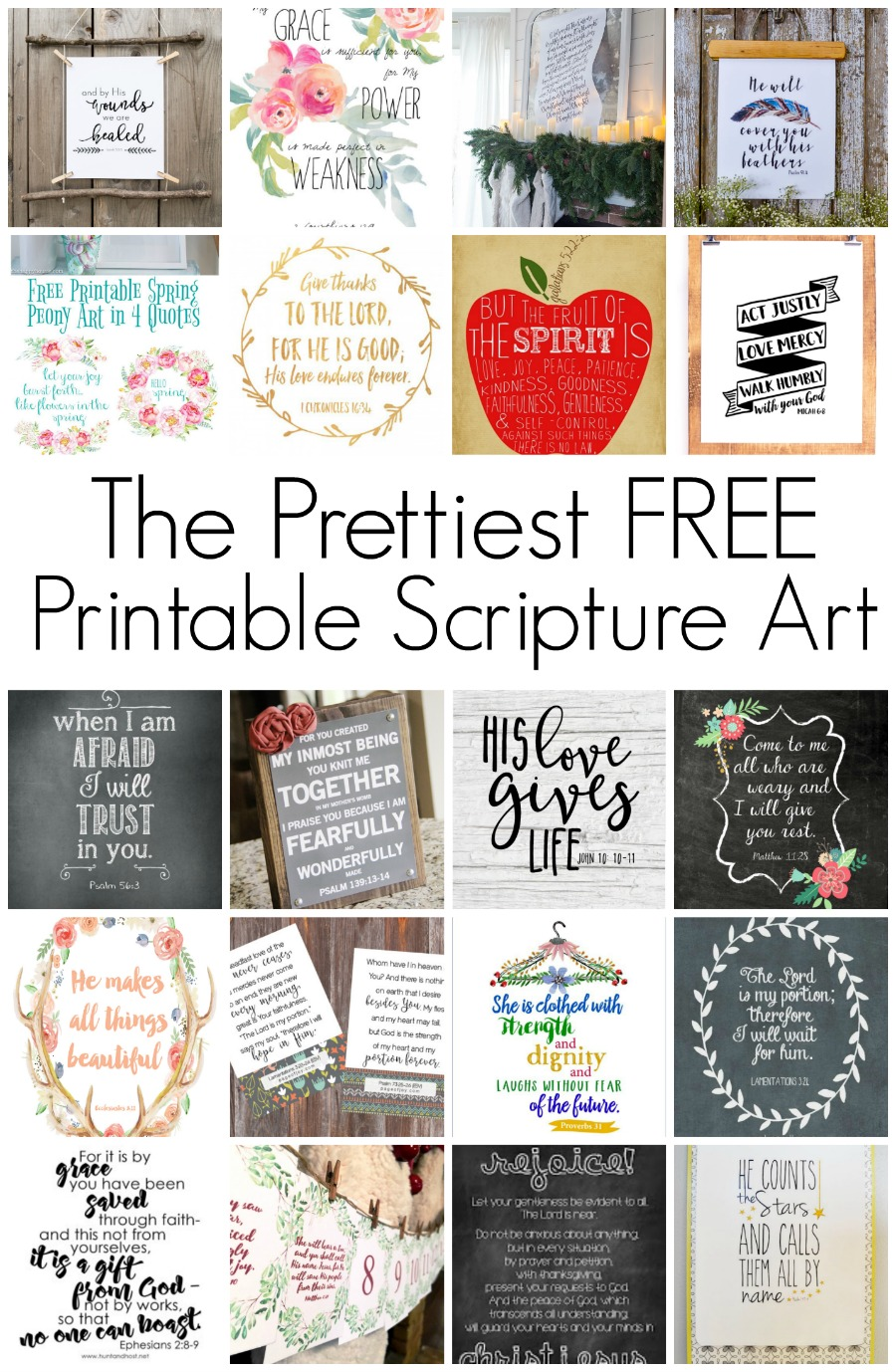 Adaptable image with regard to free printable bible verses to frame