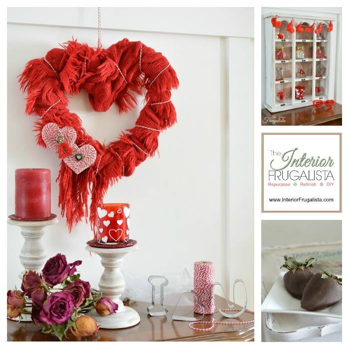 Valentine Project Ideas and winter recipes.