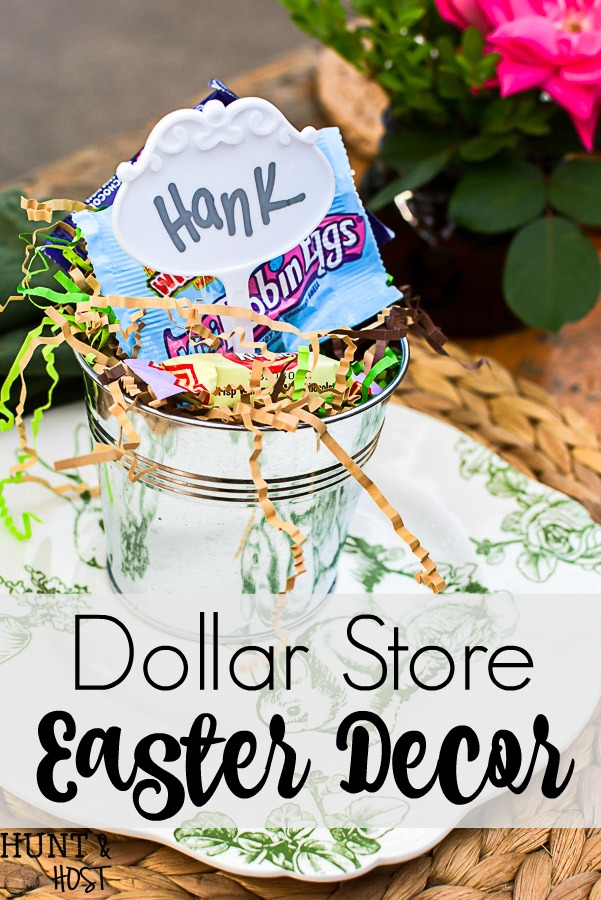 Dollar Store Easter Decor - Salvaged Living