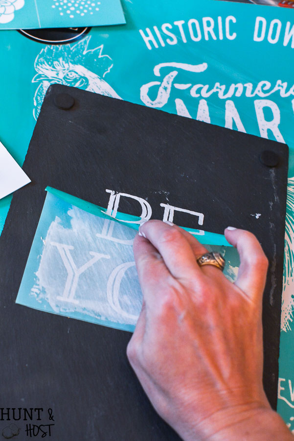 Everything you need to know about Chalk Couture. How to do your first Chalk Couture project quickly!