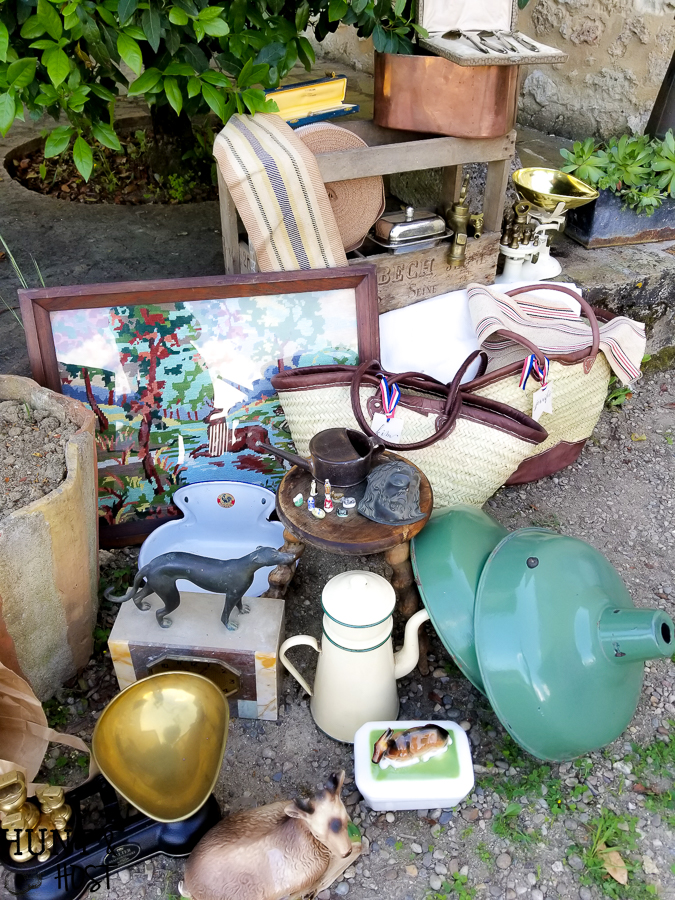 Join me on a French brocante shopping day and see the thrifted treasures I brought home. A flea market in France is my dream, just wish the suitcases where bigger!!! #frenchfela #fleamarket #frenchstyle #thrifteddecor #frenchbrocante