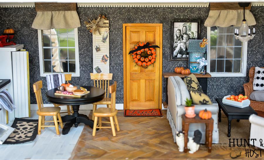 Fall Dollhouse Decorating Diys Hunt And Host