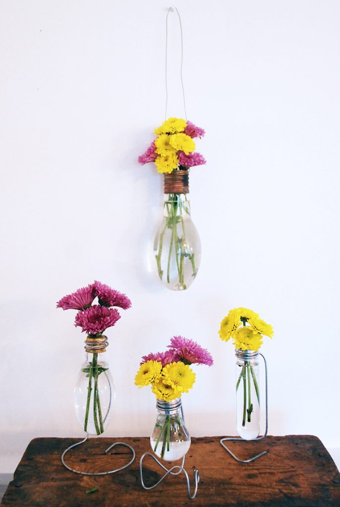 upcycled bud vase ideas