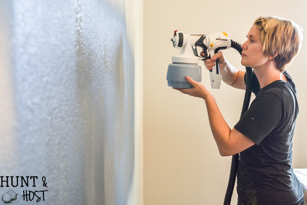Want to paint walls like a pro even if you are a beginner? These tips on how to paint walls fast will help you knock out one of the most impactful DIY projects you can do for home decor. #wagnersprayer #paintyourhome #wallcolor #diyhome #paintingtips #spraypaint #paintquick