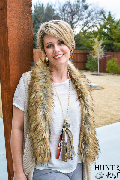 How to make old neckties into precious jewelry. This no sew necktie craft will recycle those out of style thrift store neckties into a cute tassel necklace on a serious budget. #diyjewelry #upcycleidea #vintagestyle #necktieaccessory #fashiononabudget